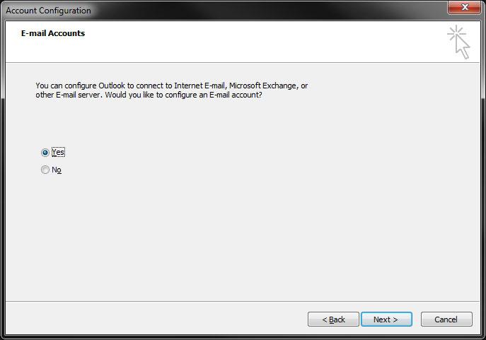 Microsoft Outlook Setup