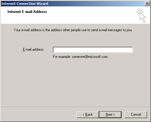 Outlook Express Email Setup